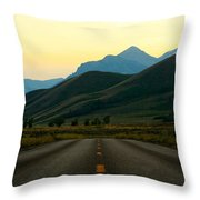 No Cars Here Throw Pillow