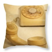 No Cell Phone Here Throw Pillow