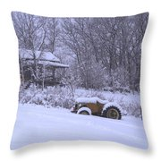No Chores Today Throw Pillow