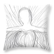 No Fear - Only Love Throw Pillow