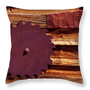 No Need To Sharpen Throw Pillow