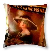 No One Else... Throw Pillow
