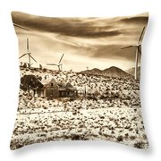 No Place Like Home 2 Palm Springs Throw Pillow