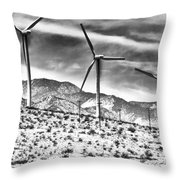 No Place Like Home 3 Desert Hot Springs Throw Pillow