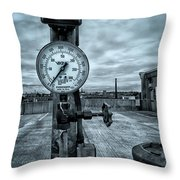 No Pressure Or The Valve At The Top Of The City  Throw Pillow