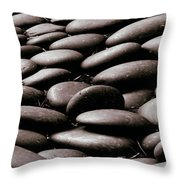 No Stone Unturned Throw Pillow