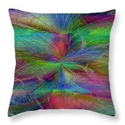 No Strings Attatched 2 Throw Pillow