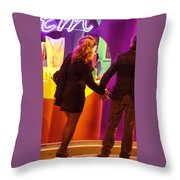 No Time For Shopping Throw Pillow