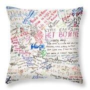 No To War 9/11 Throw Pillow