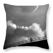 No Turning Back Throw Pillow by Bob Orsillo
