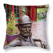No Umbrella Throw Pillow