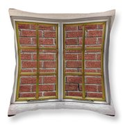 No View Throw Pillow