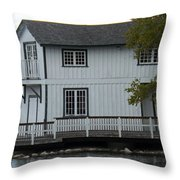 No Yard Work Required Throw Pillow