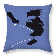 No008 My Pearl Jam Minimal Music Poster Throw Pillow