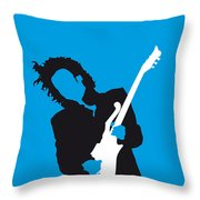 No009 My Prince Minimal Music Poster Throw Pillow
