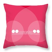 No016 My Christine Minimal Movie Poster Throw Pillow by Chungkong Art