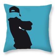 No025 My Beastie Boys Minimal Music Poster Throw Pillow