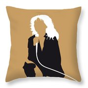 No030 My Blondie Minimal Music Poster Throw Pillow by Chungkong Art