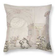 No.0613 The West Room And The Dome Room Throw Pillow