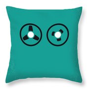 No092 My The Ipcress File Minimal Movie Poster Throw Pillow
