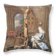 No.0961 The Charming Brute Throw Pillow