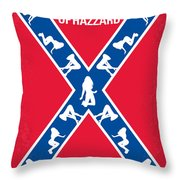 No108 My The Dukes Of Hazzard Movie Poster Throw Pillow