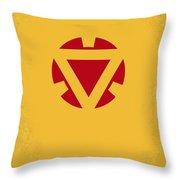 No113 My Iron Man Minimal Movie Posterno113-2 My Iron Man 2 Minimal Movie Poster Throw Pillow