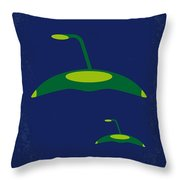 No118 My War Of The Worlds Minimal Movie Poster Throw Pillow