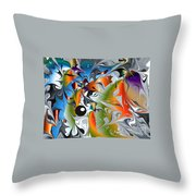 No.126 Throw Pillow