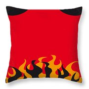 No131 My Hellboy Minimal Movie Poster Throw Pillow
