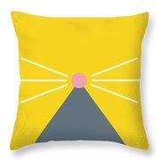 No163 My Ratatouille Minimal Movie Poster  Throw Pillow