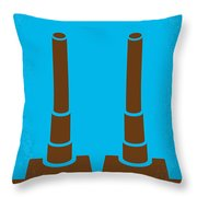 No168 My The Guns Of Navarone Minimal Movie Poster Throw Pillow by Chungkong Art