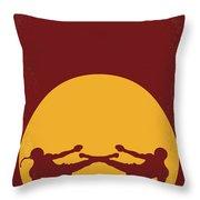 No178 My Kickboxer Minimal Movie Poster Throw Pillow