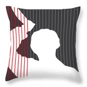 No185 My Psycho Minimal Movie Poster Throw Pillow