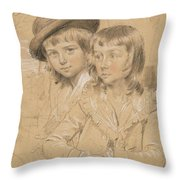 No.1933 Benjamin And Lewis Way Throw Pillow