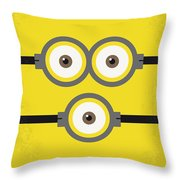 No213 My Despicable Me Minimal Movie Poster Throw Pillow