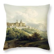 No.2289 Chiesa Della Santa Casa Throw Pillow