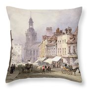 No.2351 Chester, C.1853 Throw Pillow