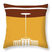 No249 My Independence Day Minimal Movie Poster Throw Pillow