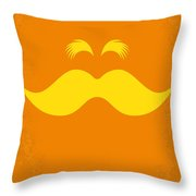 No261 My The Lorax Minimal Movie Poster Throw Pillow by Chungkong Art