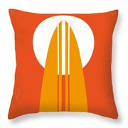 No274 My The Endless Summer Minimal Movie Poster Throw Pillow by Chungkong Art