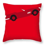 No292 My Ferris Bueller's Day Off Minimal Movie Poster Throw Pillow