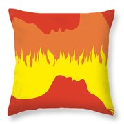 No299 My Gone With The Wind Minimal Movie Poster Throw Pillow