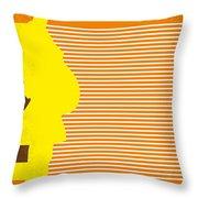 No326 My Juno Minimal Movie Poster Throw Pillow