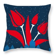 No340 My The Fault In Our Stars Minimal Movie Poster Throw Pillow
