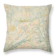 No.3713 Songe De La Fantasie, 1864 Throw Pillow