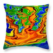 Noah's Arcade Throw Pillow by Omaste Witkowski