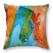 Noble One II Throw Pillow