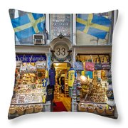 Noble Souvenirs. Stockholm 2014 Throw Pillow