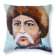Nobleman Throw Pillow